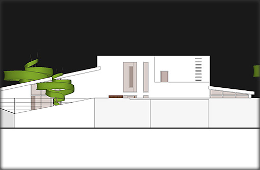 Villa Plans - Rear Elevation