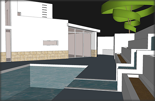 Villa Plans - Pool View
